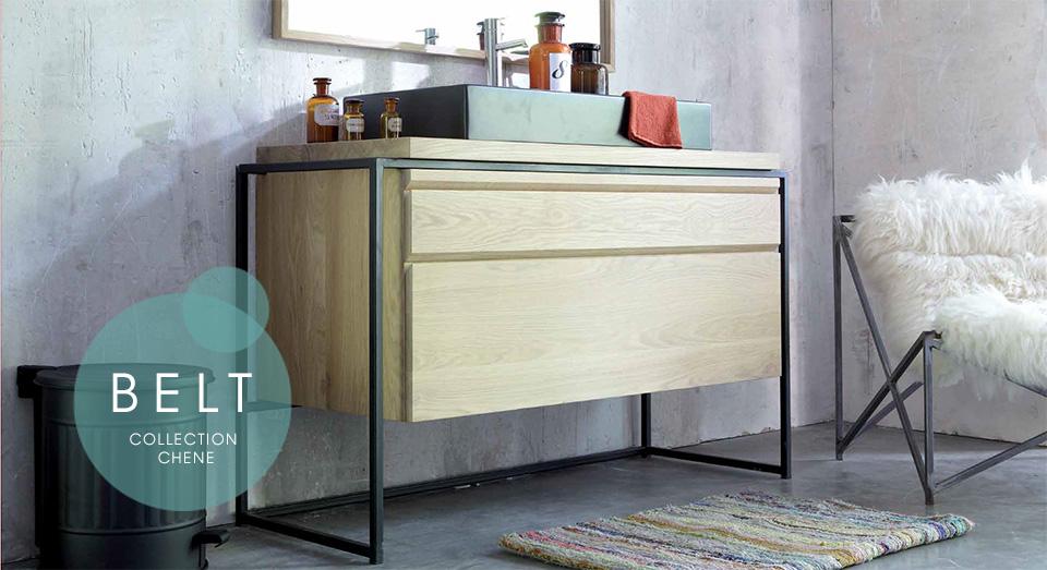 Line Art Bathroom Furniture : Mobilier de salle bain en bois massif line art